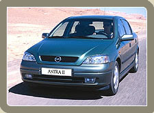 Opel Astra, India Car Rental Services