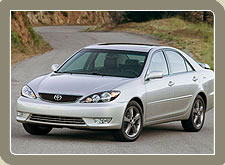 Toyota Camry, Luxury Cars in India for Rental