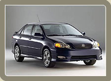 Toyota Corolla, Car Rental India